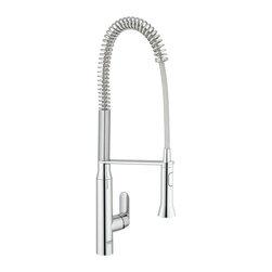 Grohe - Grohe K7 Semi-Pro Faucet, Starlight Chrome (32951 000) - Grohe 32951 000 K7 Semi-Pro Faucet, Starlight Chrome