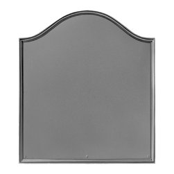 "Pennsylvania Firebacks - 19"" x 21.5"" Plain Panel Fireback - The Plain Panel Fireback displays a simple elegance indicative of the decorative arts created during the Georgian Period (1714-1800).Fireback by J. Del Conner"
