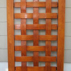Reclaimed cypress gates -
