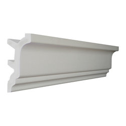 "CCM - 56 Ft Of 5.5"" Style 2 Foam Crown Molding 8' W / Precut Corners - THIS IS A KIT - 56 feet of crown molding. 95.5"" lengths."