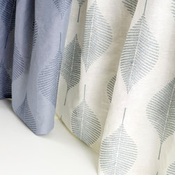 Aranya Drapery - This simple, elegant pattern takes the Knoll Luxe drapery collection in a new direction with a large scale, organic pattern in a soft, calming palette.