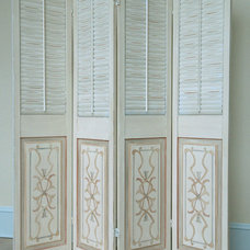 Traditional Screens And Wall Dividers by Allison Cosmos