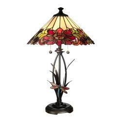 Dale Tiffany - New Dale Tiffany 2-Light Lamp Bronze Tiffany - Product Details