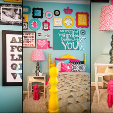 Modern  London's Big Girl Room