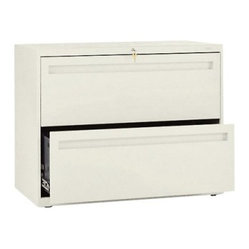 Hon (782) 36 Inch Wide 2 Drawer Lateral File Cabinet