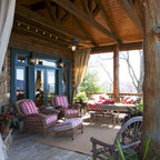 Chestnut Lodge Traditional Porch Atlanta By Modern
