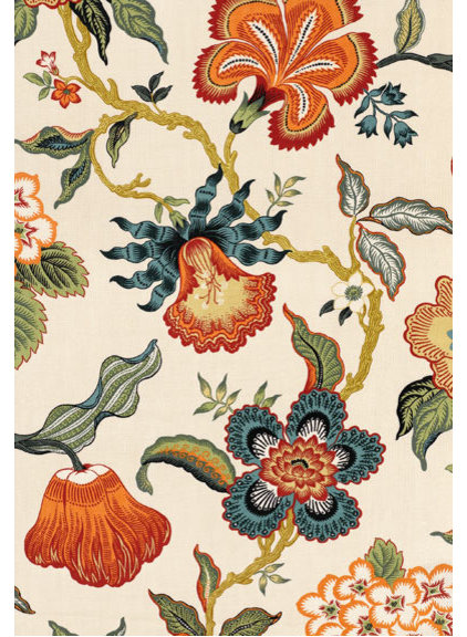 traditional upholstery fabric by F. Schumacher & Co.