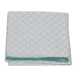 Orla Sky Flat Sheet, Full/Queen