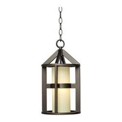 Argentine Bronze 16-Inch-H John Timberland Hanging Light -