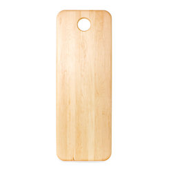 J.K. Adams - Summit Collection, Martin - If you really get around in the kitchen, this oversize cutting board will be your go-to for prepping and serving. Made of maple, it boasts an ultra-smooth surface and a clear teak oil finish.