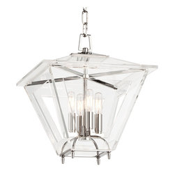 HUDSON VALLEY LIGHTING - Hudson Valley Lighting Andover-Chandelier Polished Nickel - Free Shipping