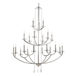 Thomasville Lighting - Thomasville Lighting P4630-104 Nisse Twenty-One Light Three-Tier Up Lighting Cha - Features: