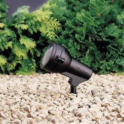Kichler - Kichler HID High Intensity Discharge Outdoor Spotlight in Textured Black - Shown in picture: Accent 1-Lt 120V in Textured Black