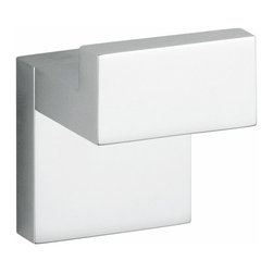"Modo Bath - Demetra 1960 Chrome Bathroom Hook - Demetria 1960 Bathroom Hook, 1.6"" W x 1.6"" D x 2.6"" H, in Polished Chrome"