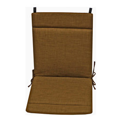 Blazing Needles - Blazing Needles Solid Neutral Outdoor Seat/Back Chair/Rocker Cushion - Add a touch of comfort and style to your outdoor home furnishings with this chair/rocker cushion with ties. This seat/back cushion features five beautiful variations that ensure the utmost in quality and durability.