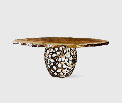 eclectic dining tables by BRABBU