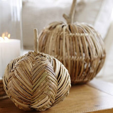 Contemporary Holiday Decorations by Pottery Barn