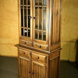 China Cabinet With Glass Doors - Made by http://www.ecustomfinishes.com