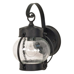 "Nuvo Lighting - Nuvo Lighting 60-632 1 Light 11"" Wall Lantern Onion Lantern W/ Clear Seed Glass - Nuvo Lighting 60-632 1 Light  11""  Wall Lantern  Onion Lantern w/ Clear Seed Glass"