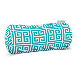 Outdoor Pacific Towers Round Bolster Pillow