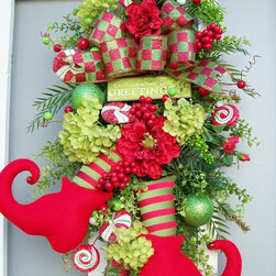 Christmas Elf Wreath -