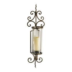 Cyan Design - Cyan Design Lighting 01594 Pavillion Wall Candleholder - Cyan Design 01594 Pavillion Wall Candleholder