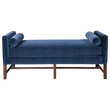 Traditional Indoor Chaise Lounge Chairs by Kristin Drohan Collection