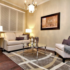 Contemporary Living Room by Lori Pedersen Home Staging+Styling