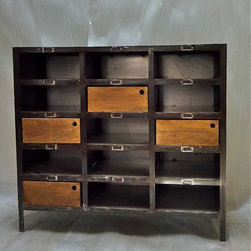 Hardwood furniture - Industrial drawer chest