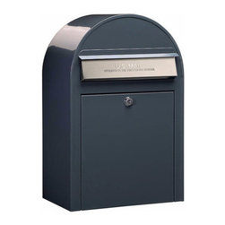 Bobi Mailboxes - USPS Bobi Classic Mailbox, Front Access Lockable, Grey - **This listing is for just the mailbox without the mailbox post. There is a separate listing for the set.