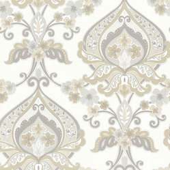 Zinc Ashbury Wallpaper