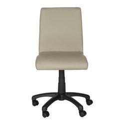 "Safavieh - Hal Desk Chair Raises To 36.2"", Grey - Hal Desk Chair Raises To 36.2""/Grey"
