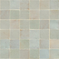 Idris Terra Cotta Tile - Ann Sacks Tile & Stone - The texture and variation of this tile is hard to explain without seeing it first person - take it from us, it is stunning.