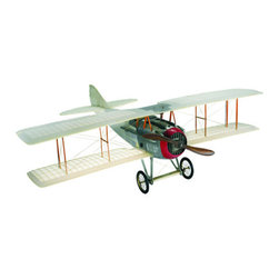 "Transparent Spad Model Airplane - The transparent spad model airplane measures 23.5""L x 30""W x 9""H. This amazing spad replica allows light to shine right through it. It will literally light up a room."