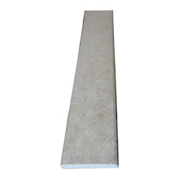 "Crema Marfil Marble Saddle Threshold 4""x36"" - Crema Marfil Marble Both Sides Polished Saddle Threshold 4""x36"""