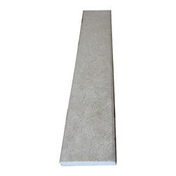 """Crema Marfil Marble Saddle Threshold 4""""x36"""" - Crema Marfil Marble Both Sides Polished Saddle Threshold 4""""x36"""""""