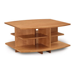 """Copeland Furniture - Copeland Furniture Monterey 36"""" x 36"""" Coffee Table 5-MNT-40-03 - The Monterey occasional tables are crafted in solid cherry hardwood."""