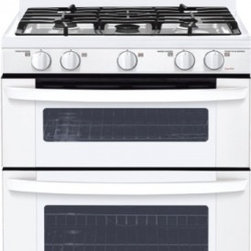 LG - LDG3035SW 6.1 cu. ft. Capacity Freestanding Gas Range With Double Oven  Superboi - LG strives to achieve the highest standard of great design by perfecting the concept style interface and finish of each of their products LG has acquired a long history of award-winning designs consistently delivering elegance and performance to thei...