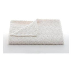 Belle & June - Lux Rosebud Throw, Ivory - They say it's always better to give than receive, but this is one gift you'll definitely want to keep. Tiny rosebuds stitched together on both sides give this blanket its wonderfully soft feel. Layer it atop your bed or toss it on the sofa or chaise so it's always close at hand.