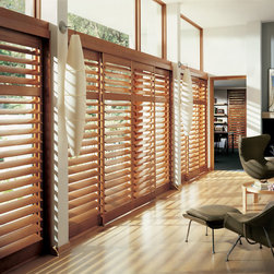 Heritance Shutters - photography courtesy of Hunter Douglas