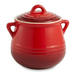 Le Creuset - Le Creuset Heritage Mini Bean Pot - Perfect for baking and serving up side dishes and individual portions, this Mini Bean Pot is sure to be a handy addition to any kitchen. Strong stoneware construction delivers long-lasting use and superior cooking results.