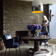 Eclectic  Abigail Ahern's basement dining area
