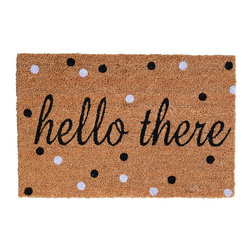 Hello There Doormat A Sweet Little Doormat With A Nice