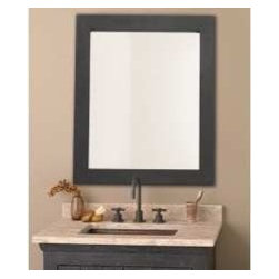 KCK Bathroom Mirrors & Accessories - Cuzco Mirror - The Cuzco mirror from Native Trails is an artisan crafted hand forged wrought iron frame with a beautiful beveled glass mirror. Use as an elegant accent to our old world vanities or as a stand alone piece in any room in your home.