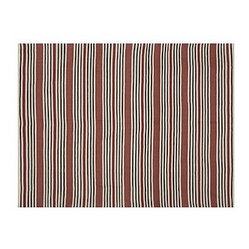 Greenwich Stripe Recycled Yarn Indoor/Outdoor Rug, 8 x 10