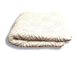 "BrandWave - Chenille Quilt, Queen - Chenille was considered the height of luxury in the 1920's and 1930's. What""s old is new again as we have taken a traditional technique and applied it to our unique design."