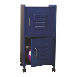 KidKraft - Medium Locker, Blue, by Kidkraft - Our Medium Locker is the perfect way to keep rooms tidy. This durable locker would look great in any child�s room and can help kids organize everything from their favorite toys to important school supplies.