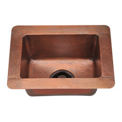 MR Direct - MR Direct 905 Single Bowl Copper Sink - Our handcrafted copper sinks add warmth and richness to a variety of decors. Our line of copper sinks come in a hammered finished with a beautifully aged patina. The hammered finish will help hide small scratches that may occur over the lifetime of the sink. Copper is a naturally antibacterial and will not rust or stain, making it low maintenance. Each sink is fully insulated with sound dampening pads. Our copper sinks are covered by a limited lifetime warranty. Each sink comes with a cardboard cutout template and mounting hardware.