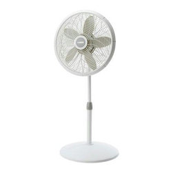 "Lasko Products - Pedestal Fan 18"" White - 18"" Performance Pedestal Fan with white finish"