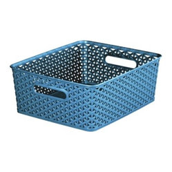 Room Essentials Yweavve Medium Storage Baskets Blue Set